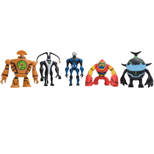 اکشن فیگور طرح شخصیتهای بن تن مدل 0857A-6 مجموعه 5 عددی