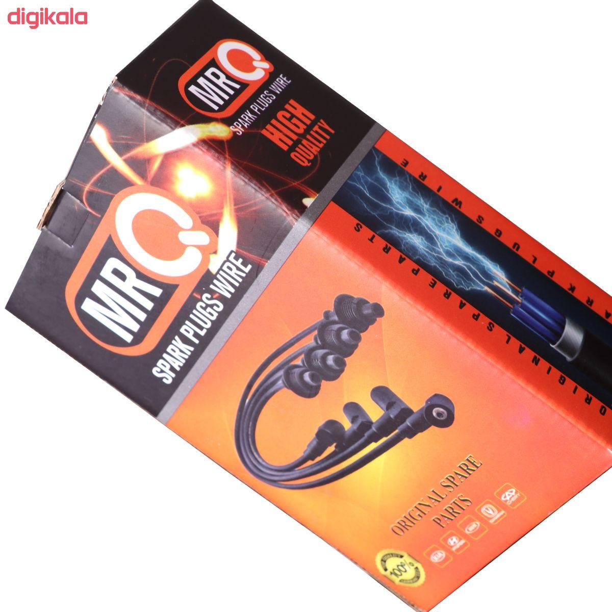 وایر شمع خودرو مستر کیو مدل 456erty مناسب برای پژو 405 بسته 4 عددی main 1 3