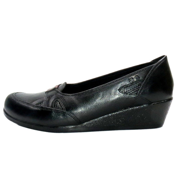 کفش روزمره زنانه آر اند دبلیو مدل 805 رنگ مشکی