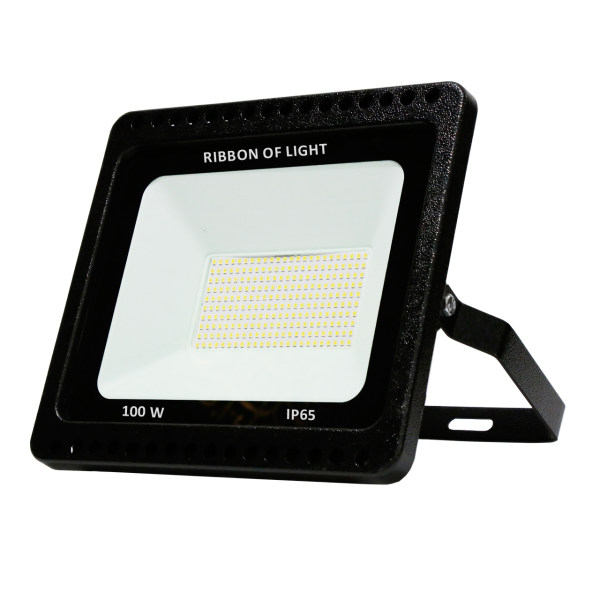 پروژکتور اس ام دی 100 وات روبان نور مدل PJ10001-B بسته 3 عددی