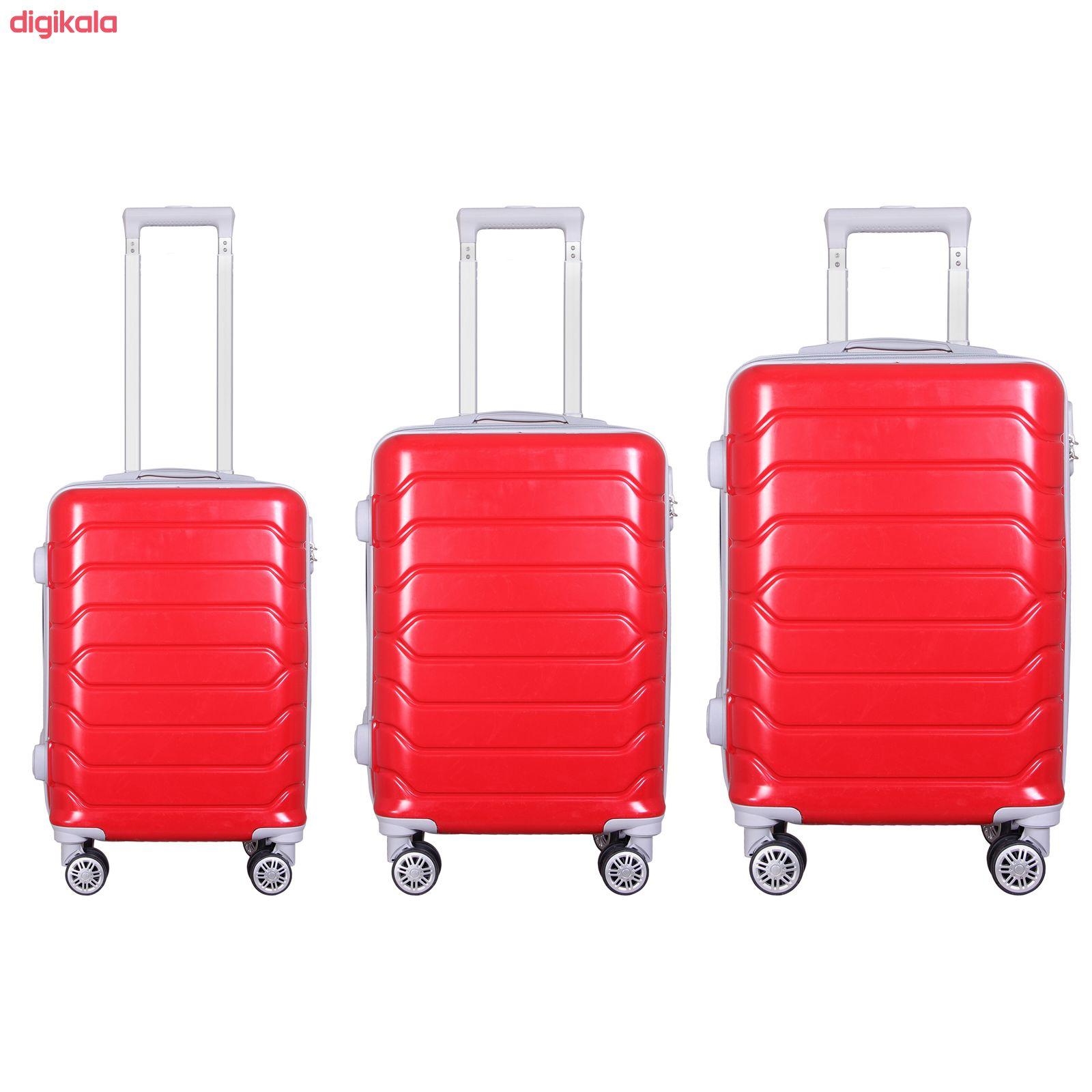 مجموعه سه عددی چمدان مدل 20020 main 1 7