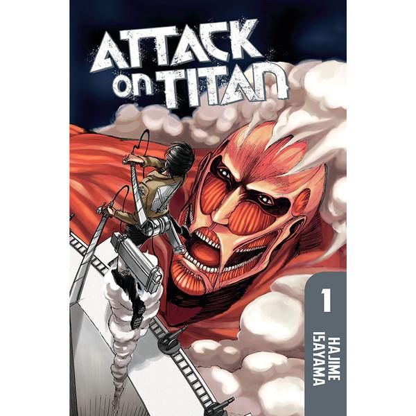 کتاب Attack on Titan اثر Hajime Isayama نشر Kodansha Comics جلد اول