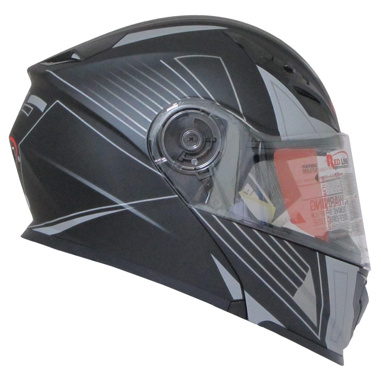 کلاه کاسکت ردلاین مدل NSN20-BLKGRY