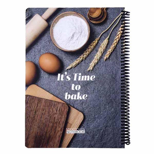 دفتر دات نوت مدل Its Time To Bake