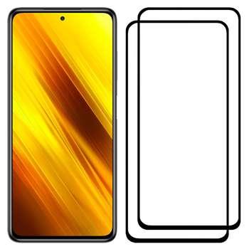 محافظ صفحه نمایش مدل FCG مناسب برای گوشی موبایل شیائومی Poco X3 NFC بسته دو عددی