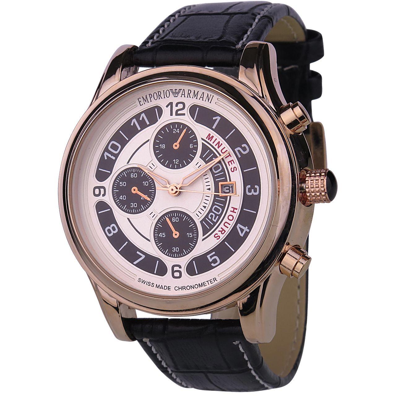 ساعت مچی عقربه ای مردانه مدل A.R.M-a315              خرید (⭐️⭐️⭐️)