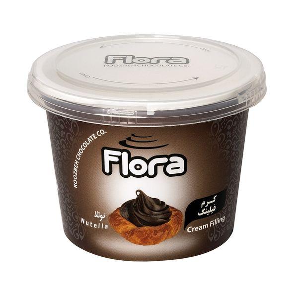 کرم فیلینگ کیک و شیرینی با طعم نوتلا فلورا - 300 گرم