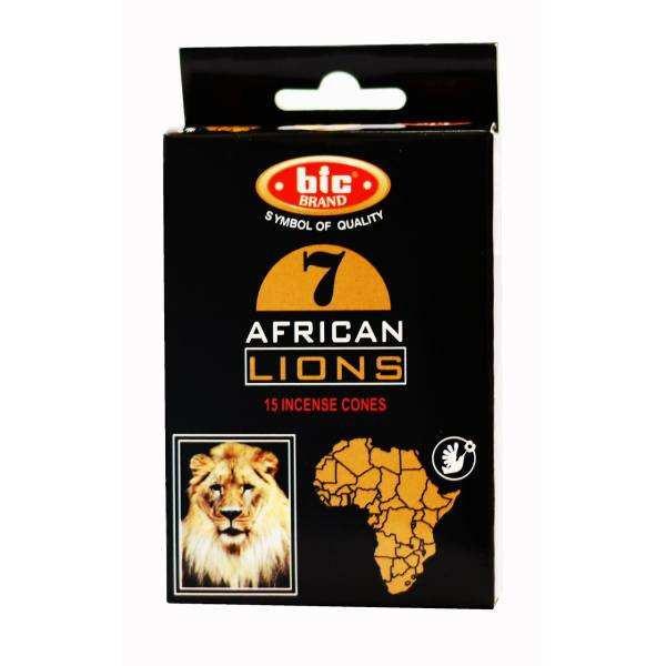 عود بیک طرح آبشاری مدل شیر افریقایی