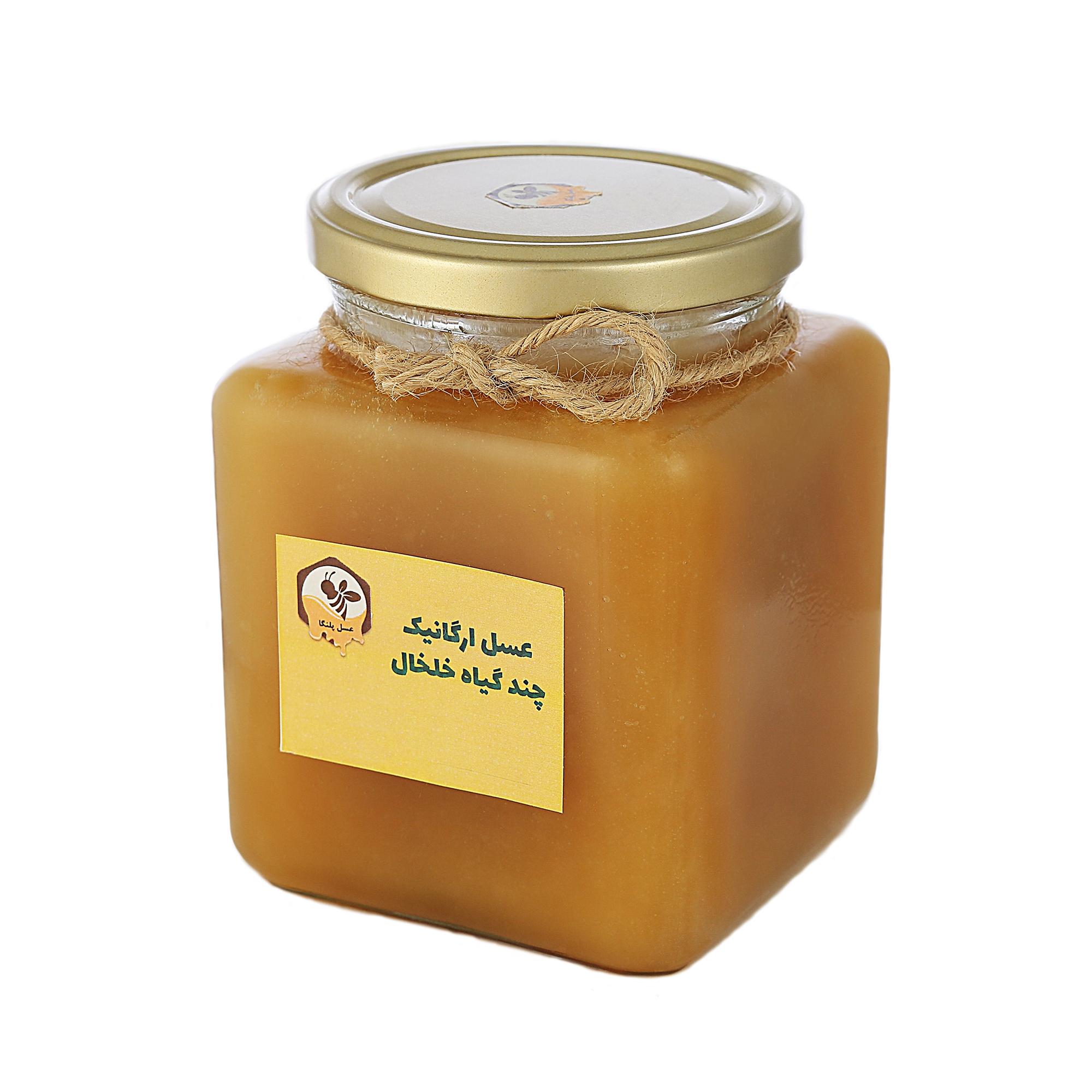 عسل چند گیاه خام پلنگا - 1 کیلوگرم
