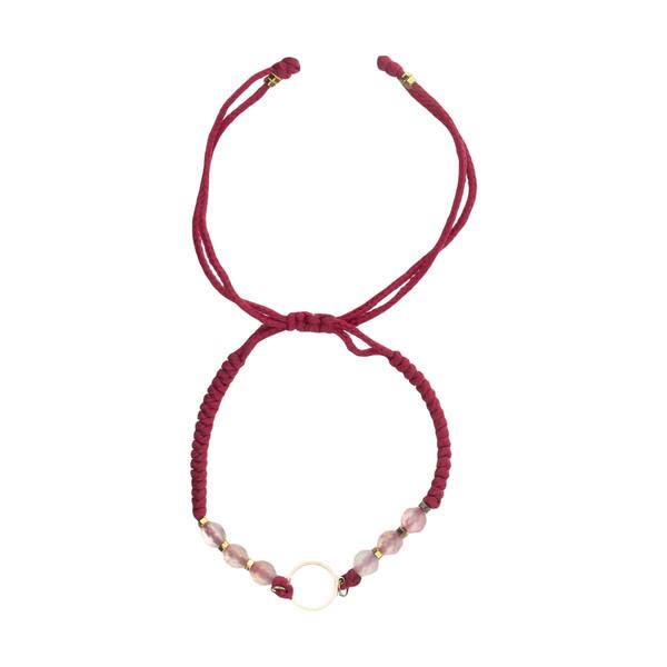 دستبند طلا 18 عیار زنانه نیوانی مدل Ba1018
