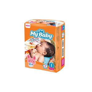 پوشک بچه مای بیبی سایز 1 بسته 11 عددی