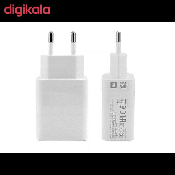 شارژر دیواری شیائومی مدل MDY-10-EF به همراه کابل تبدیل USB-C main 1 4
