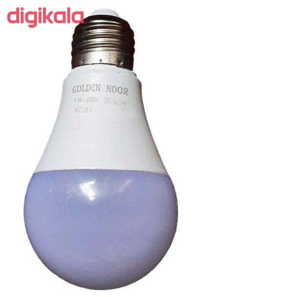 لامپ 9 وات گلدن نور مدل gn9 پایه e27 بسته 5 عددی main 1 1
