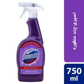 اسپری چندمنظوره سطوح دامستوس مدل Purple حجم 750 میلیلیتر