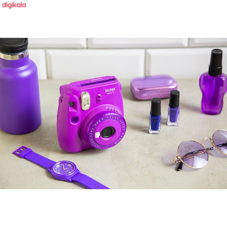دوربین عکاسی چاپ سریع فوجی فیلم مدل Instax Mini 9 Clear main 1 39