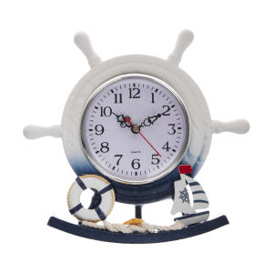 ساعت رومیزی طرح کشتی کد 039
