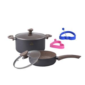 سرویس پخت و پز 6 پارچه وون مدل bismark