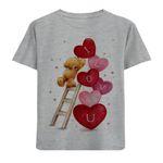 تی شرت دخترانه مدل قلب M71