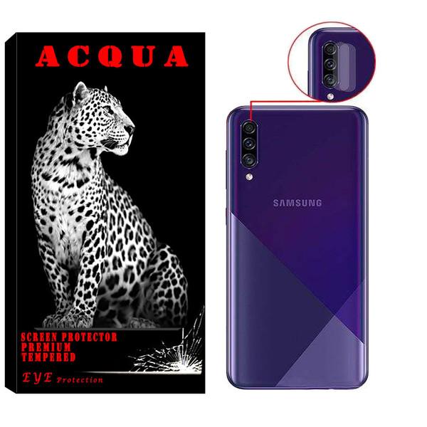 محافظ لنز دوربین آکوا مدل LN مناسب برای گوشی موبایل سامسونگ  Galaxy A30s بسته 2 عددی