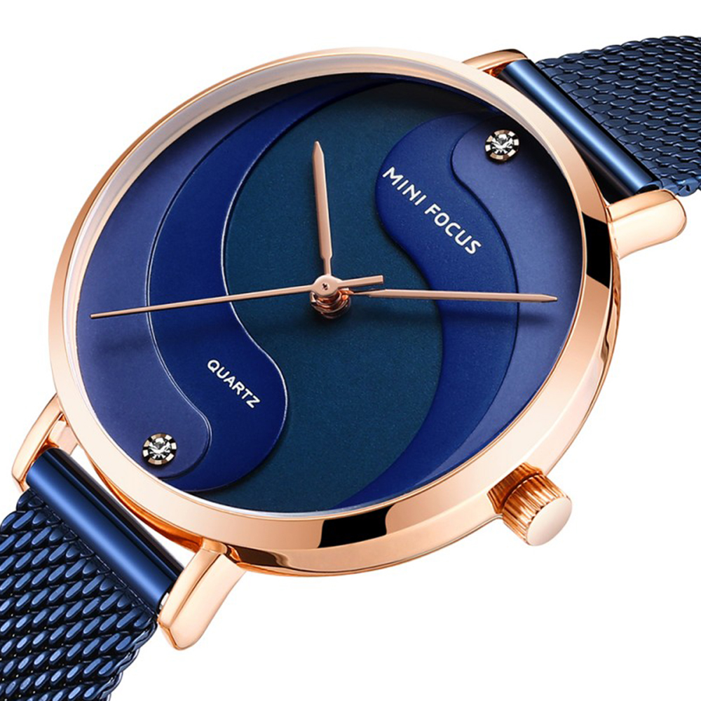 خرید و قیمت                      ساعت مچی  زنانه مینی فوکوس مدل mf0291L.04
