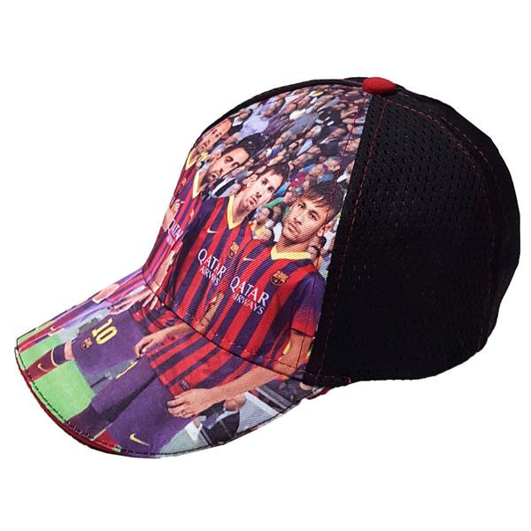 کلاه کپ پسرانه مدل بارسلونا