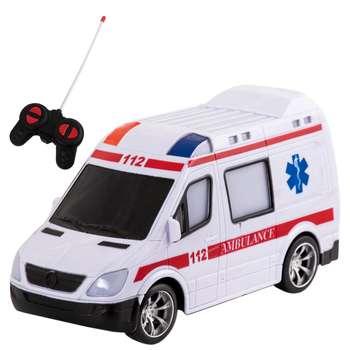 ماشین بازی کنترلی طرح آمبولانس