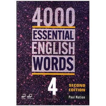 کتاب 4000ESSENTIAL ENGLISH WORDS 4 اثر paul nation انتشارات زبان مهر