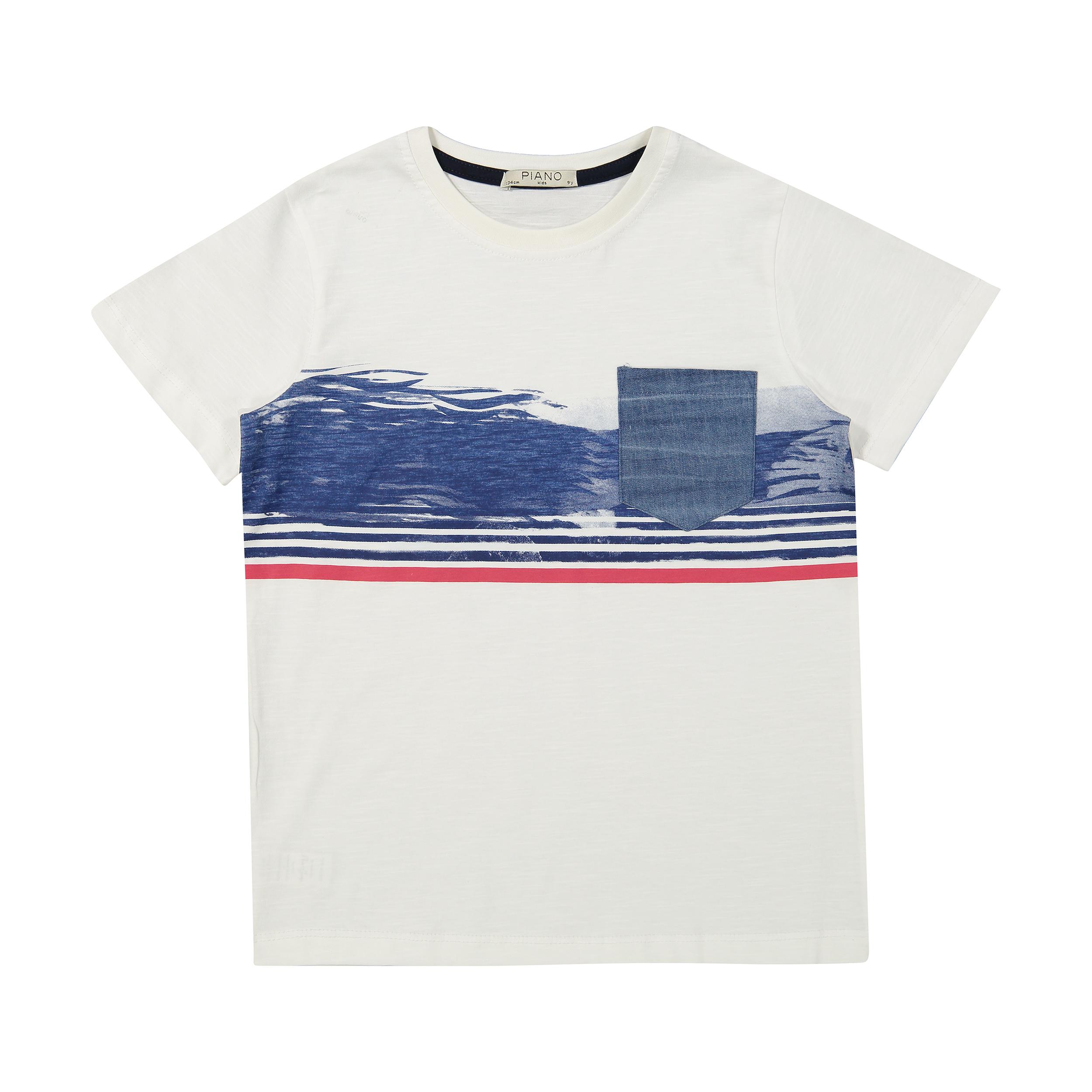 تی شرت پسرانه پیانو مدل 01530-1
