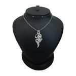 گردنبند نقره زنانه ترمه ۱ مدل مرسده کد ma 824