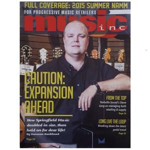 مجله music inc سپتامبر 2015