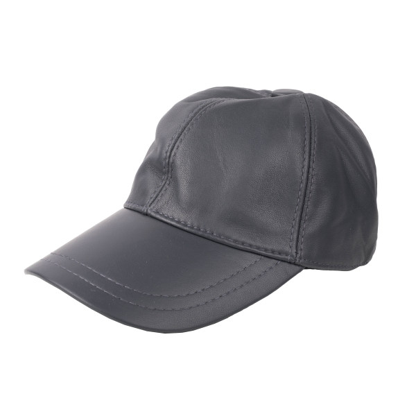 کلاه کپ چرم کن ا مدل D-470