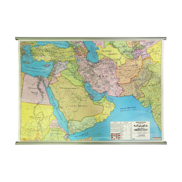نقشه راهنمای خاورمیانه گیتاشناسی نوین کد ۱۳۷۲