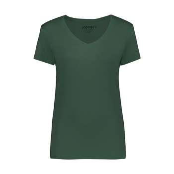 تی شرت زنانه کوتون مدل 0YAK13640OK-Dark Green