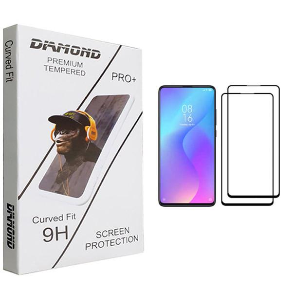 محافظ صفحه نمایش دياموند مدل +PRO مناسب برای گوشی شیائومی Poco X3 NFC بسته 2 عددی