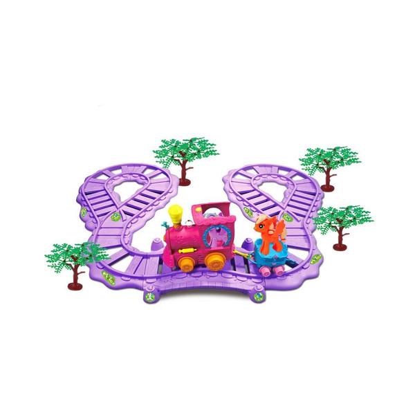 قطار بازی مدل romantic merry کد 123
