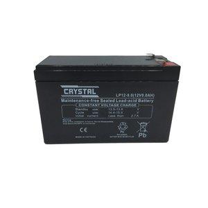 باتری یو پی اس 12 ولت 9 آمپر ساعت کریستال مدل LP12-9
