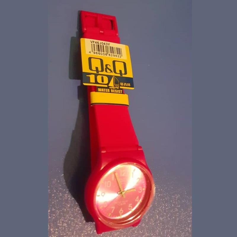 ساعت مچی عقربه ای دخترانه کیو اند کیو مدل vp46j043y