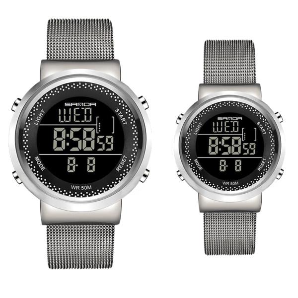 ست ساعت مچی دیجیتال زنانه و مردانه مدل SA 383-4 - NO
