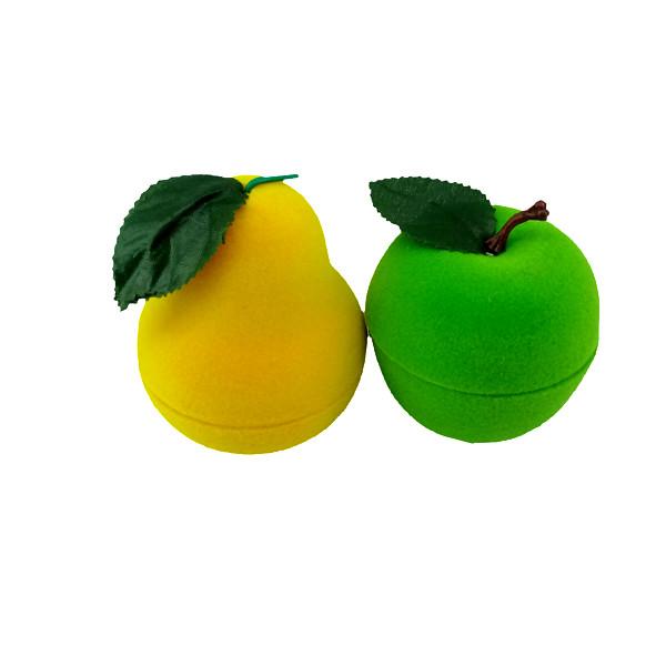 جعبه انگشتر مدل میوه کد 11 مجموعه دو عددی