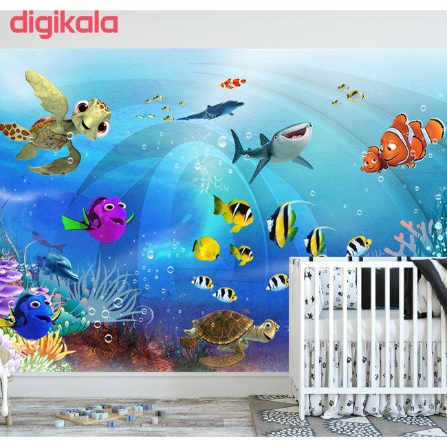 پوستر دیواری اتاق کودکطرح آکواریوم کد 15659712 main 1 2