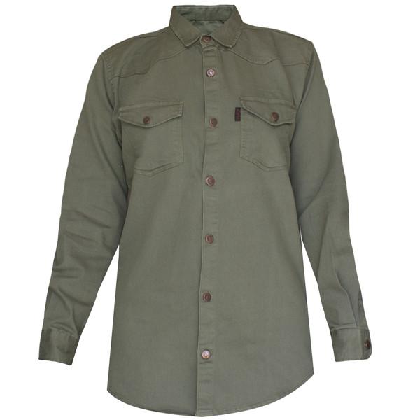 پیراهن آستین بلند مردانه مدل P-210