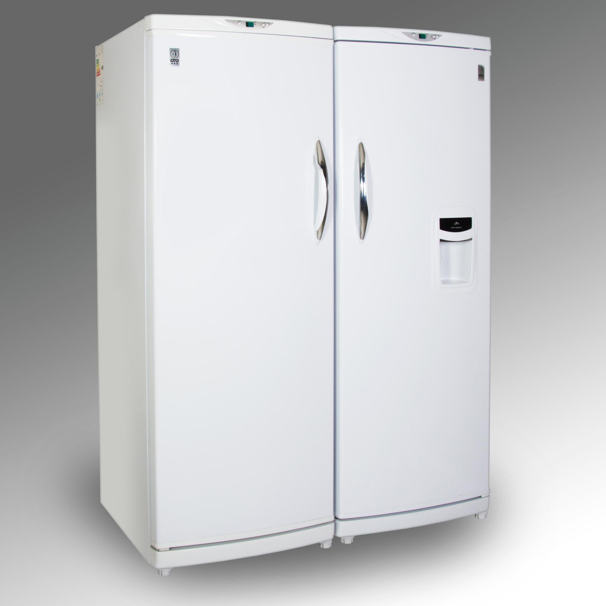 یخچال و فریزر دوقلو پارس مدل PRH17631EW/W-FRZNF170 main 1 1