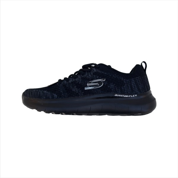 کفش پیاده روی زنانه اسکچرز مدل Relaxed FIT 52388 BLK-GRY