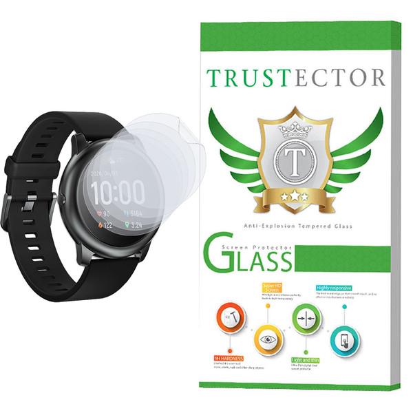 محافظ صفحه نمایش نانو تراستکتور مدل GNF مناسب برای ساعت هوشمند شیائومی Haylou Solar بسته 5 عددی