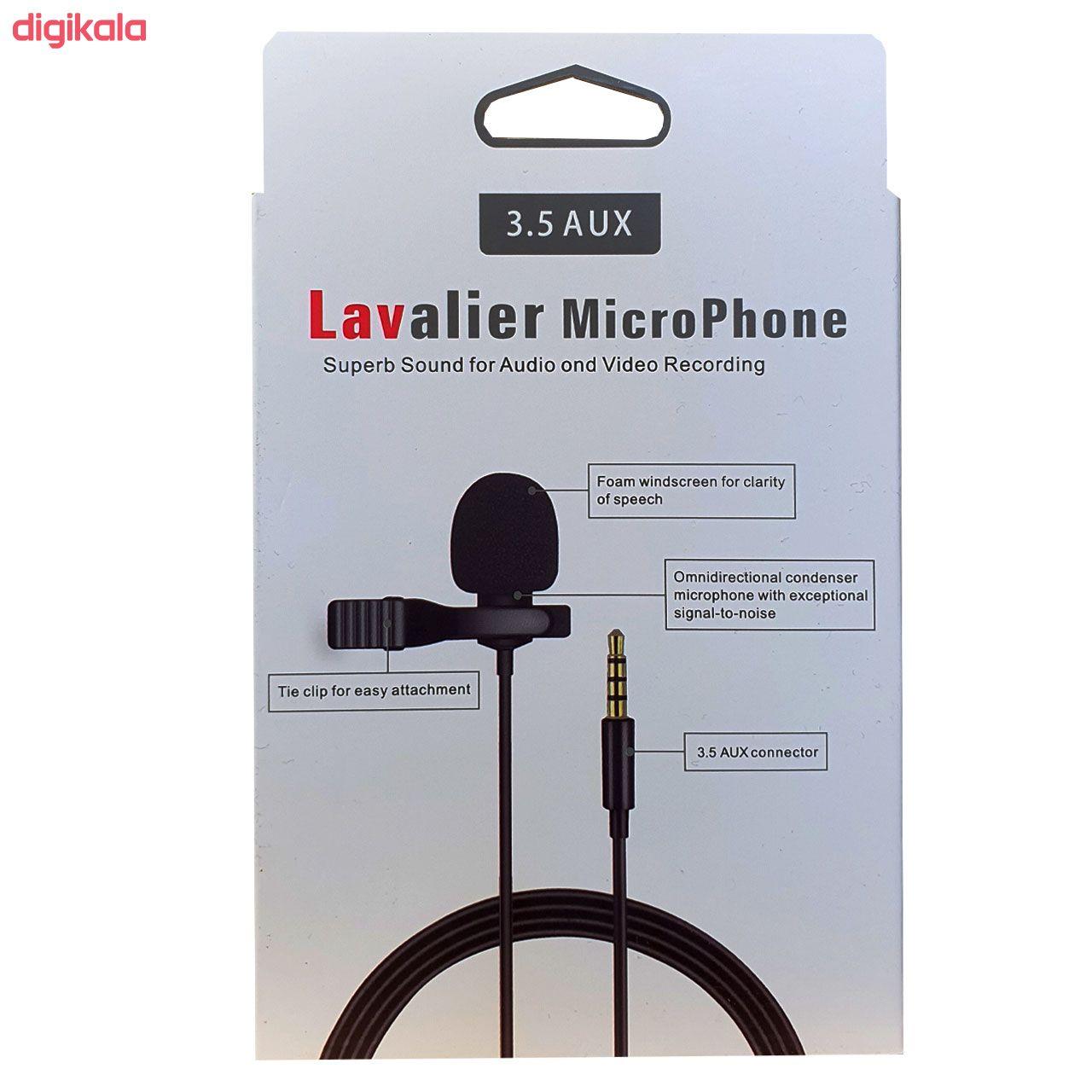 میکروفون یقه ای لاوالیر مدل JH-043 main 1 4
