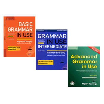 کتاب Grammar in use اثر جمعی از نویسندگان انتشارات آرماندیس 3 جلدی