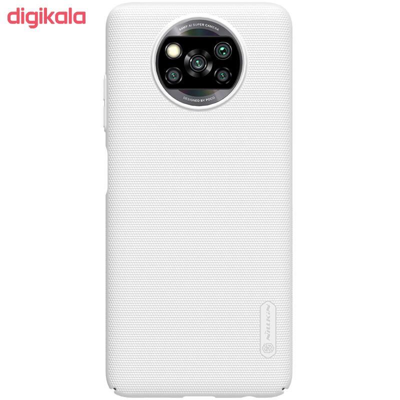 کاور نیلکین مدل Frosted Shield مناسب برای گوشی موبایل شیائومیRedmi Poco X3 NFC main 1 5