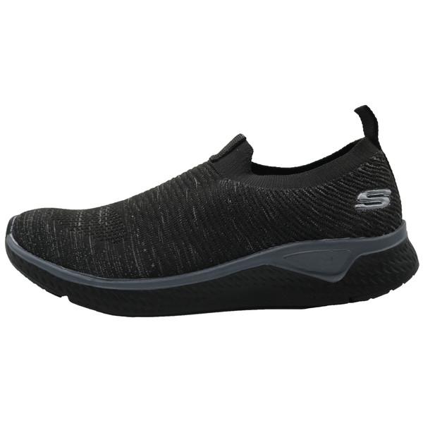 کفش پیاده روی اسکچرزمدل بافت رنگ مشکی