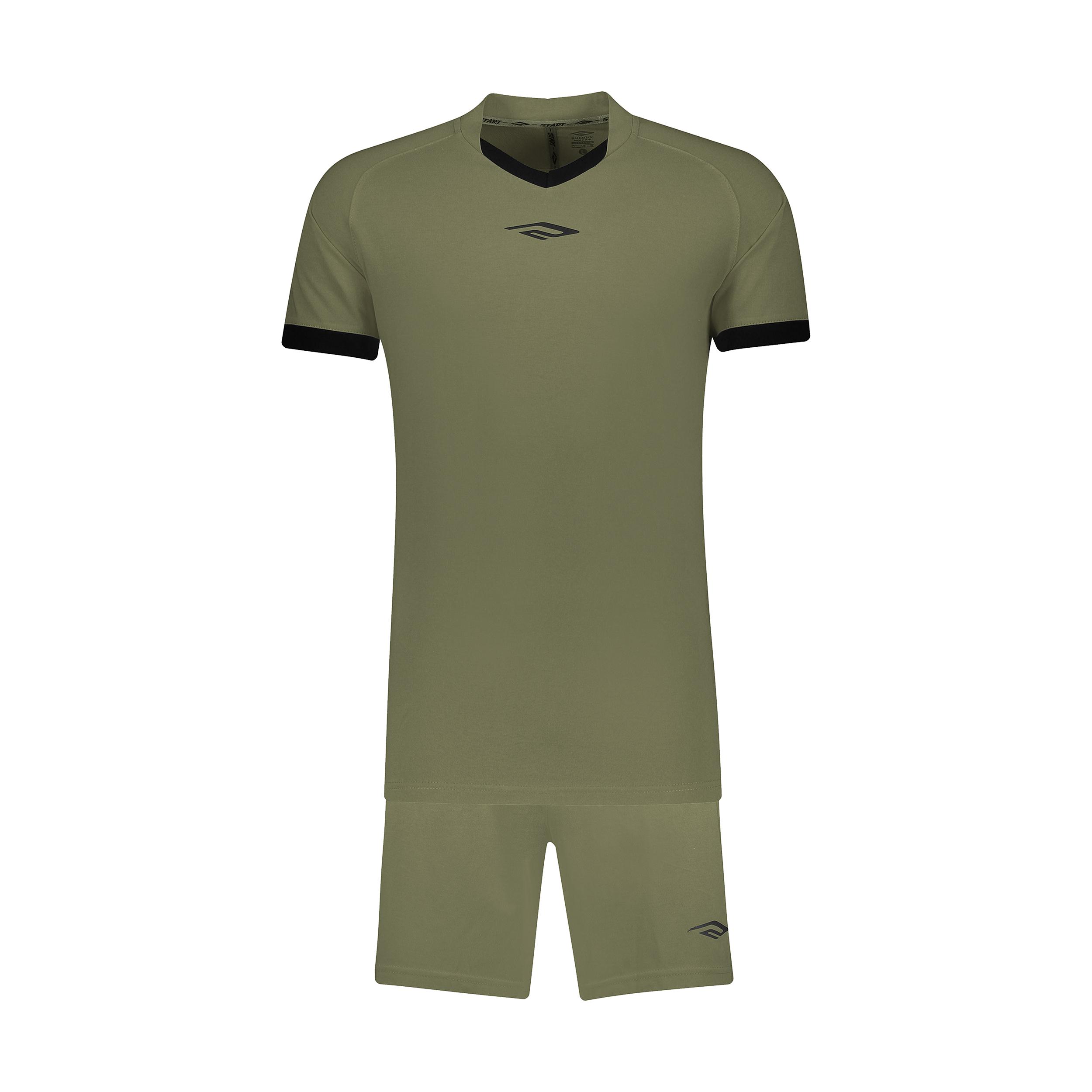 ست پیراهن و شورت ورزشی مردانه استارت مدل v1001-4 -  - 2