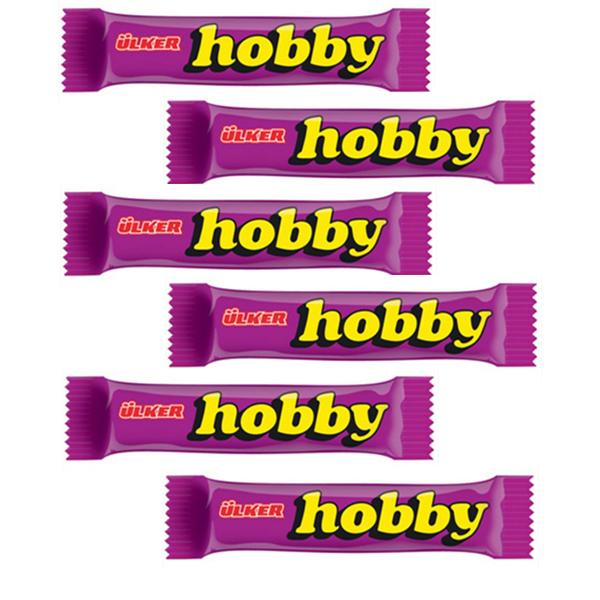 شکلات مغزدار هوبی آلکر - 30 گرم بسته 6 عددی